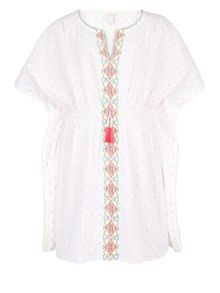 Monsoon Girls Eliza Embroidered Kaftan