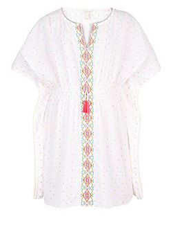 Girls Eliza Embroidered Kaftan