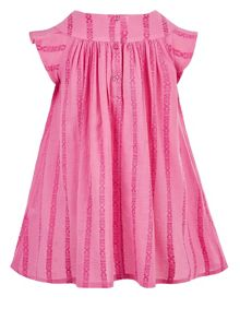 Monsoon Girls Baby Amy Crochet Dress