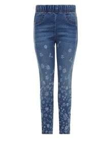 Monsoon Girls Emilia Border Jegging