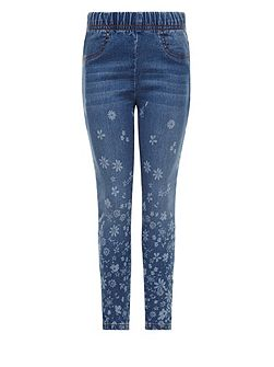Girls Emilia Border Jegging