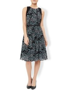Monsoon Flora Print Dress