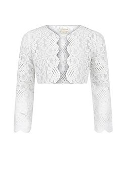 Girls Mira Lace Jacket