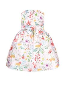Monsoon Baby Girls Ella Print Dress