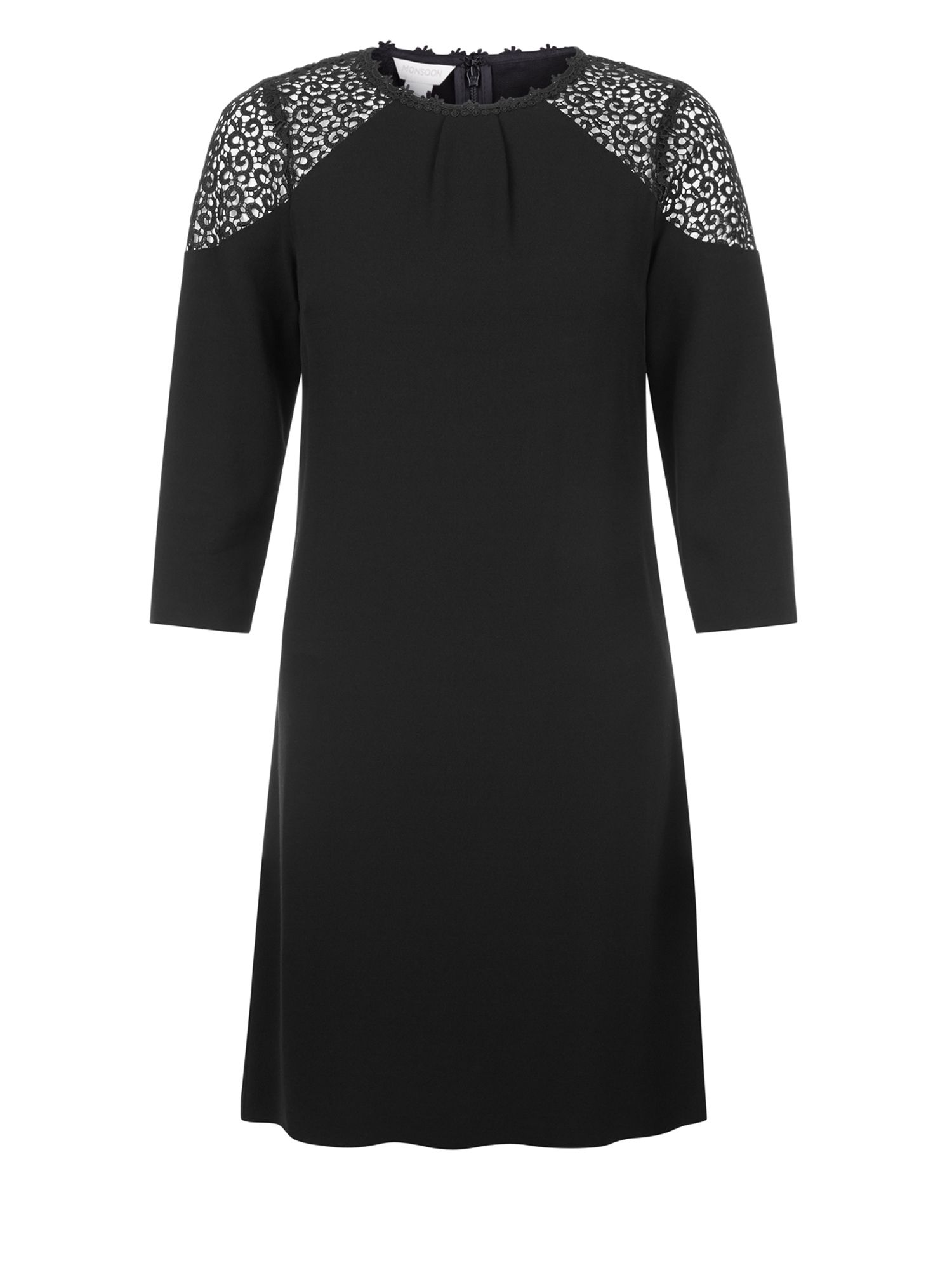 Monsoon Dorothy Dress, Black