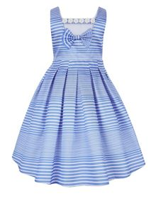 Monsoon Girls Neola Stripe Dress