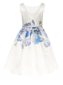 Monsoon Girls Heidi Hydrangea Dress