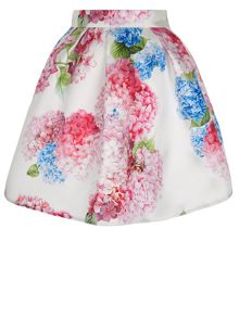 Monsoon Girls Heidi Hydrangea Flower Skirt