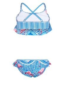 Monsoon Girls Flamingo Tribal Bikini