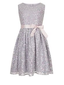 Monsoon Girls Ottalia Sparkle Sequin Dress