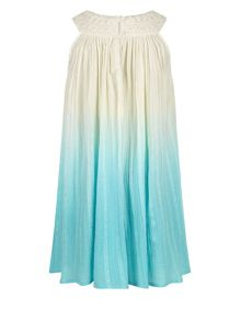 Monsoon Girls Ombre Amy Dress
