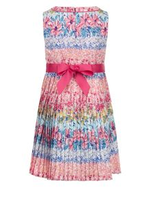 Monsoon Girls Georgia Pleated Dress