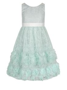 Monsoon Girls Lyra Cascade Dress