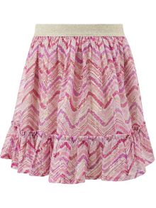 Monsoon Charlie Chevron Skirt