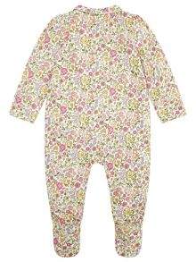 Monsoon Newborn Sonia Sleepsuit