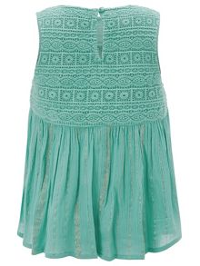 Monsoon Girls Louisa Woven Top