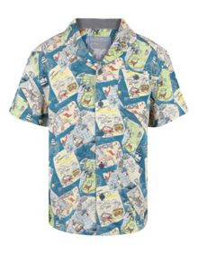 Monsoon Boys Conway Print Shirt