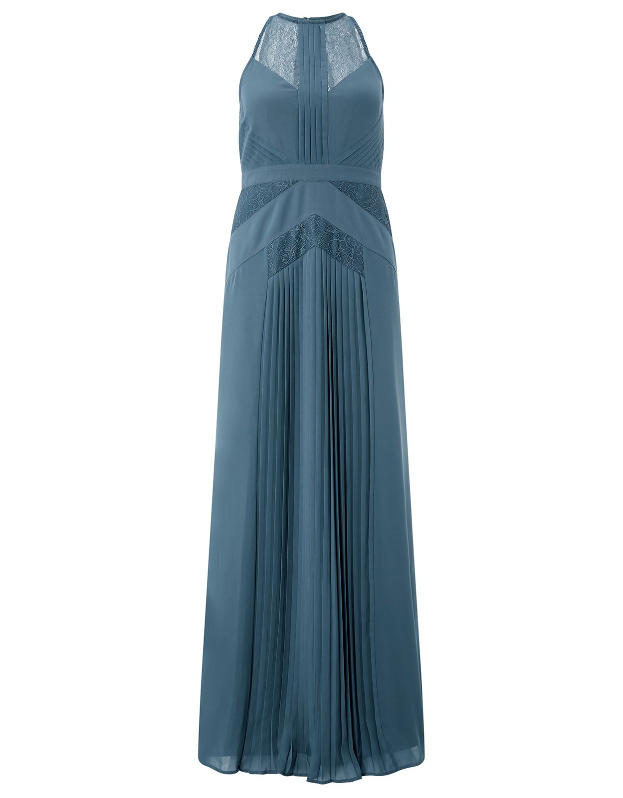 Monsoon Aminta Maxi Dress, Blue