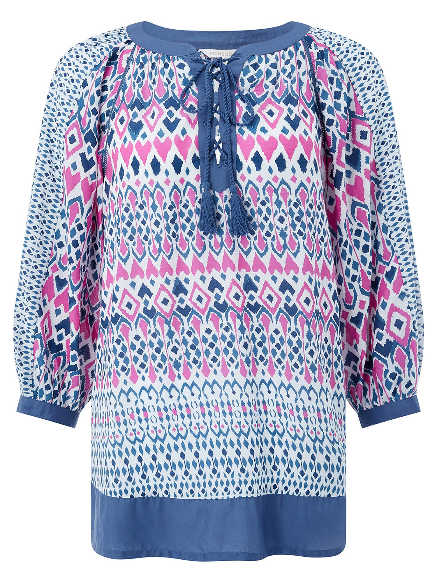 Monsoon IMMY IKAT PRINTED KAFTAN, Multi-Coloured