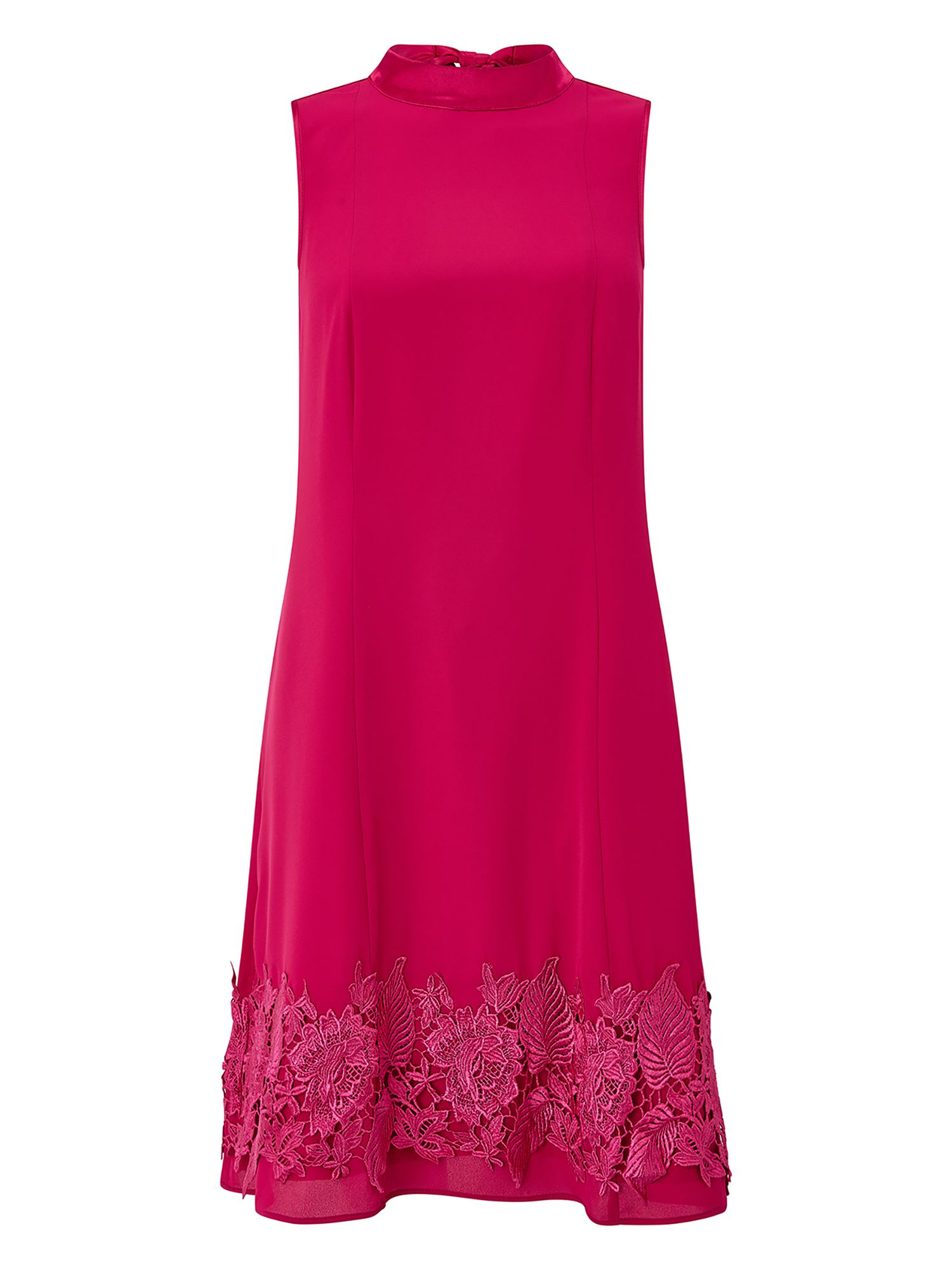 Monsoon Dorri Dress, Pink