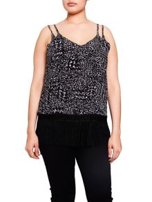 Elvi Black & White Monochrome Cami