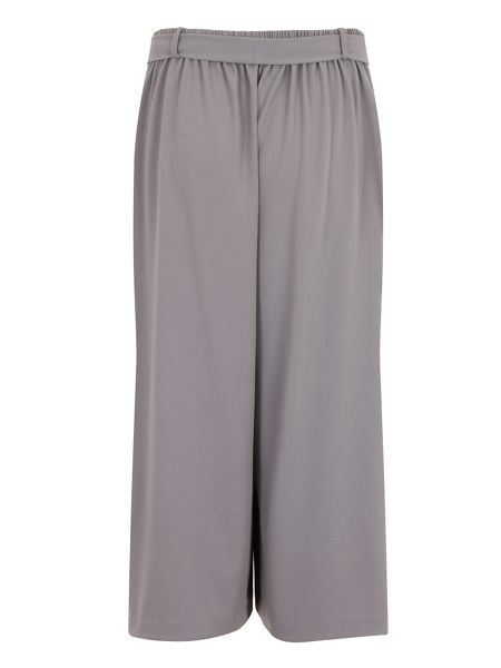 Elvi Plus Size Grey Cullottes
