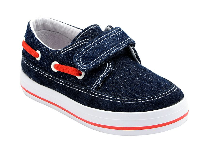 Boy`s ahoy denim canvas