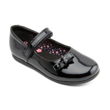 Infant girl`s minnie patent shoes