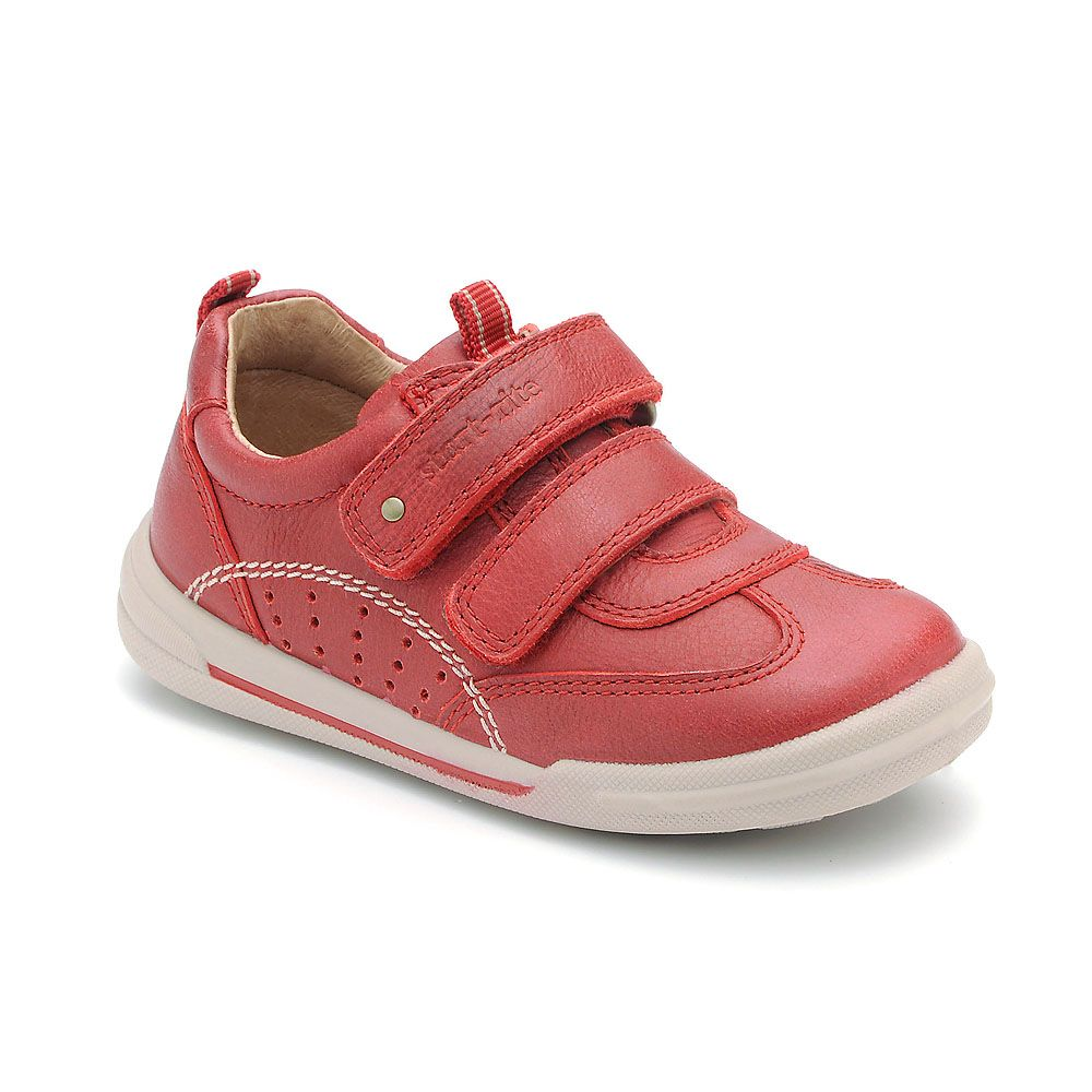 First boy`s flexy soft air leather shoes