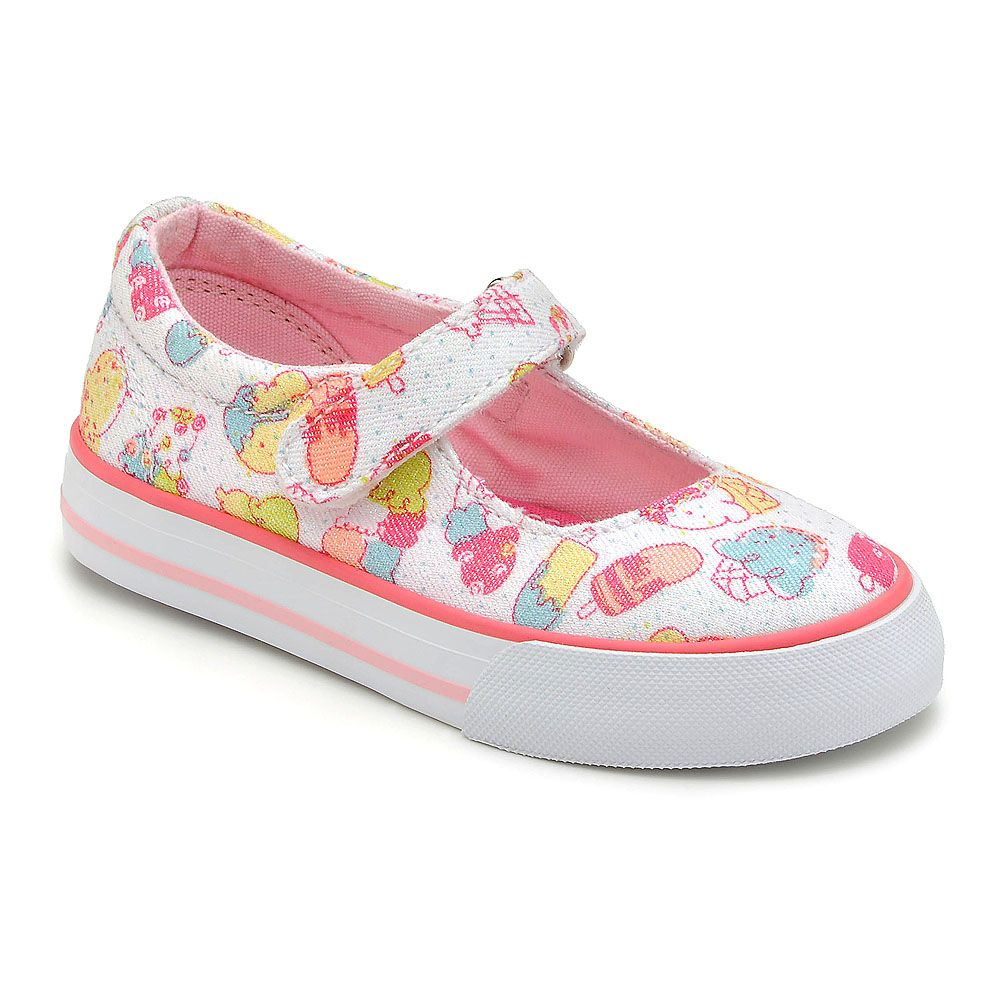 Girl`s gelato white canvas