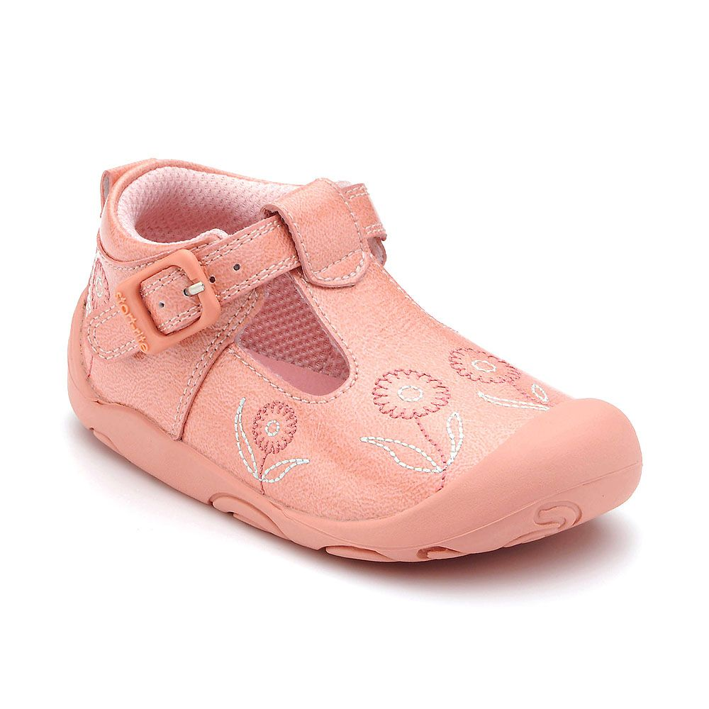 Girl`s ready pink patent shoes