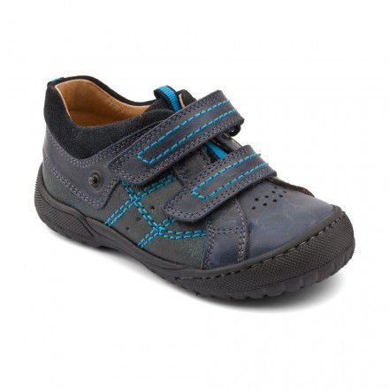 Boy`s naples leather first walker shoes