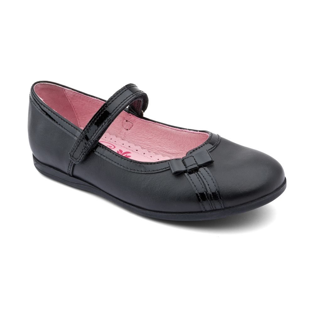 Infant girl`s claudia leather shoes