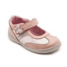 Girl`s super soft amy leather first walker shoes