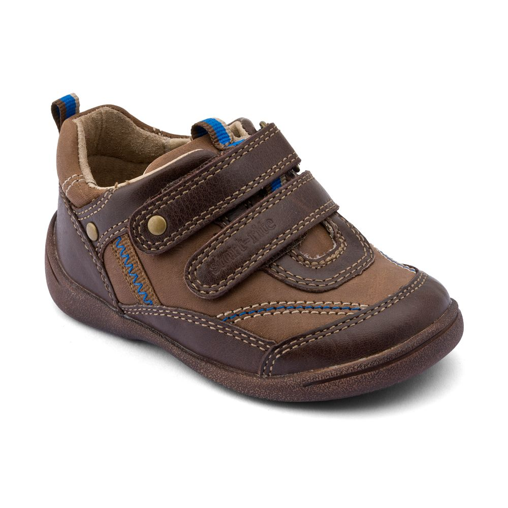 Boy`s super soft leather first walker shoes