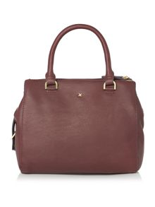 Mia burgundy small cross body bag