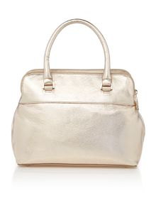 Pippa gold small tote bag