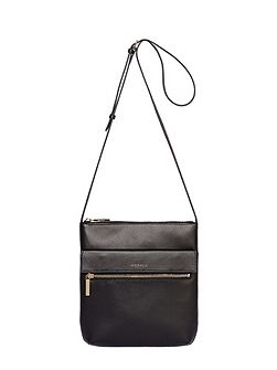 Erin leather crossbody bag