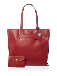 Fiorelli Tristen red medium tote bag