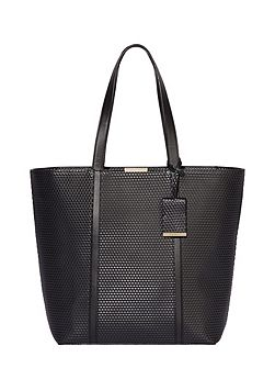 Betty leather shopper bag