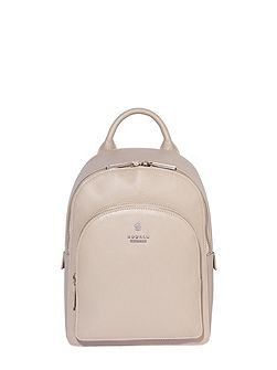 Nell leather small backpack bag