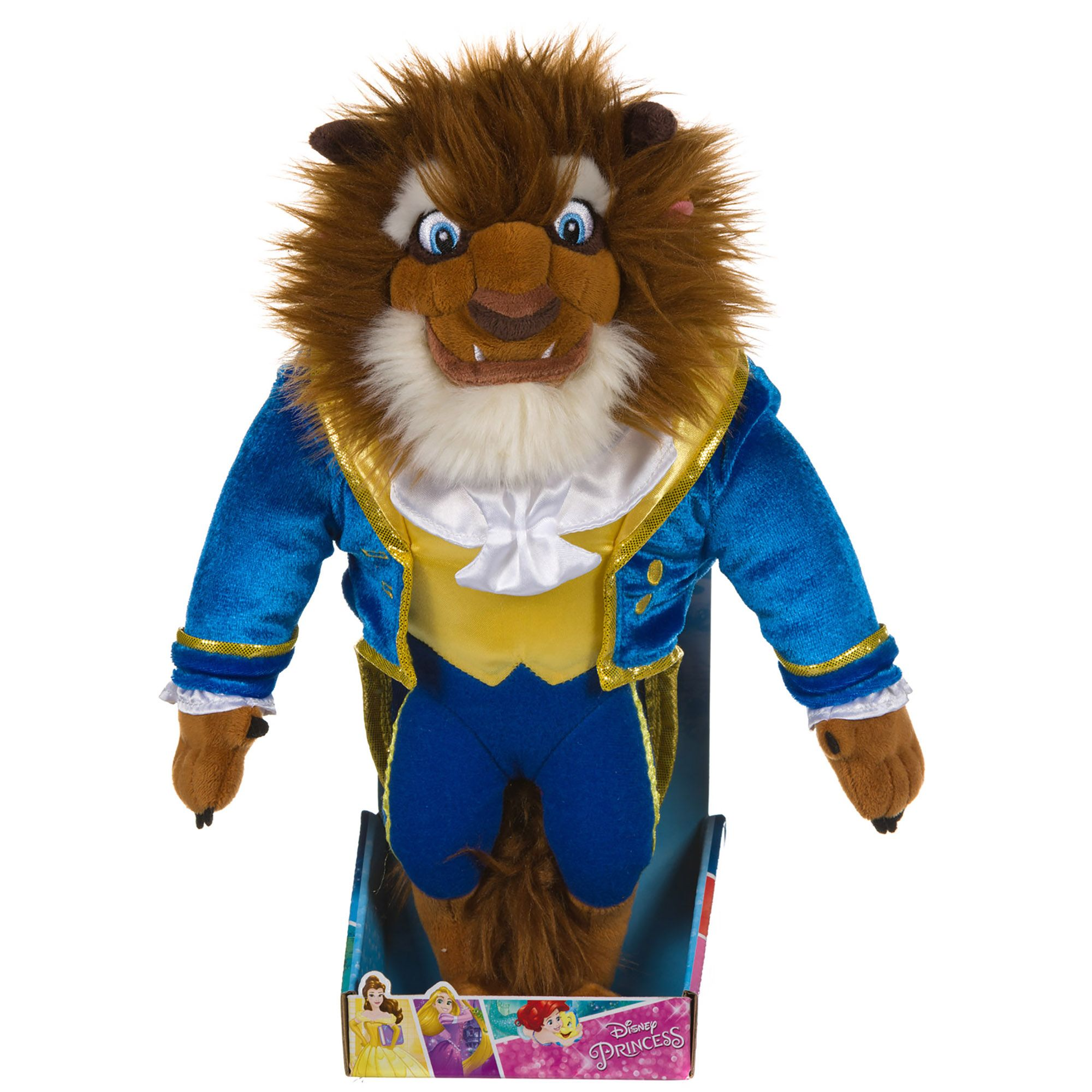 Image of Disney Beauty & The Beast Beast 10-Inch Soft To
