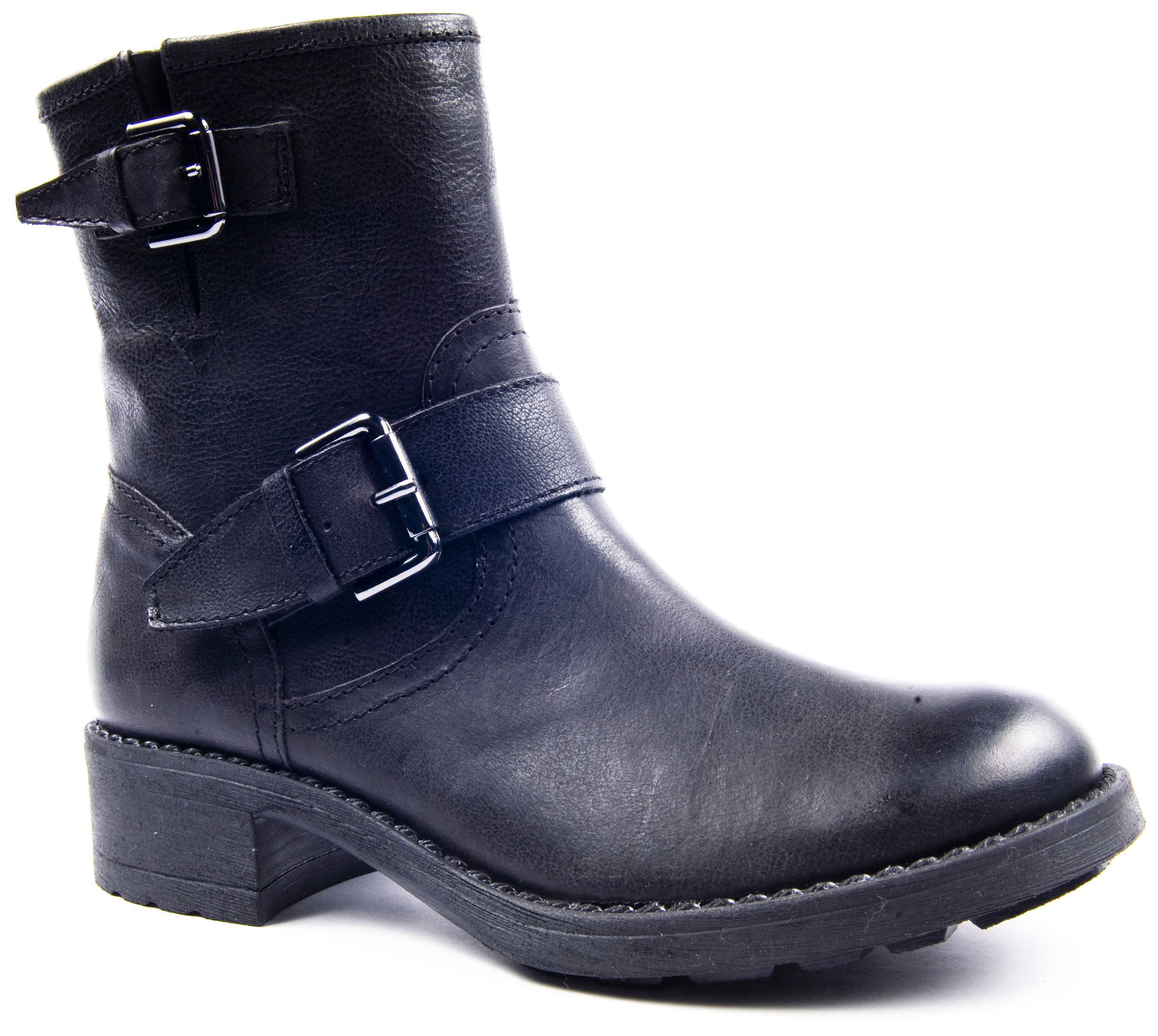 Oxford ankle boots