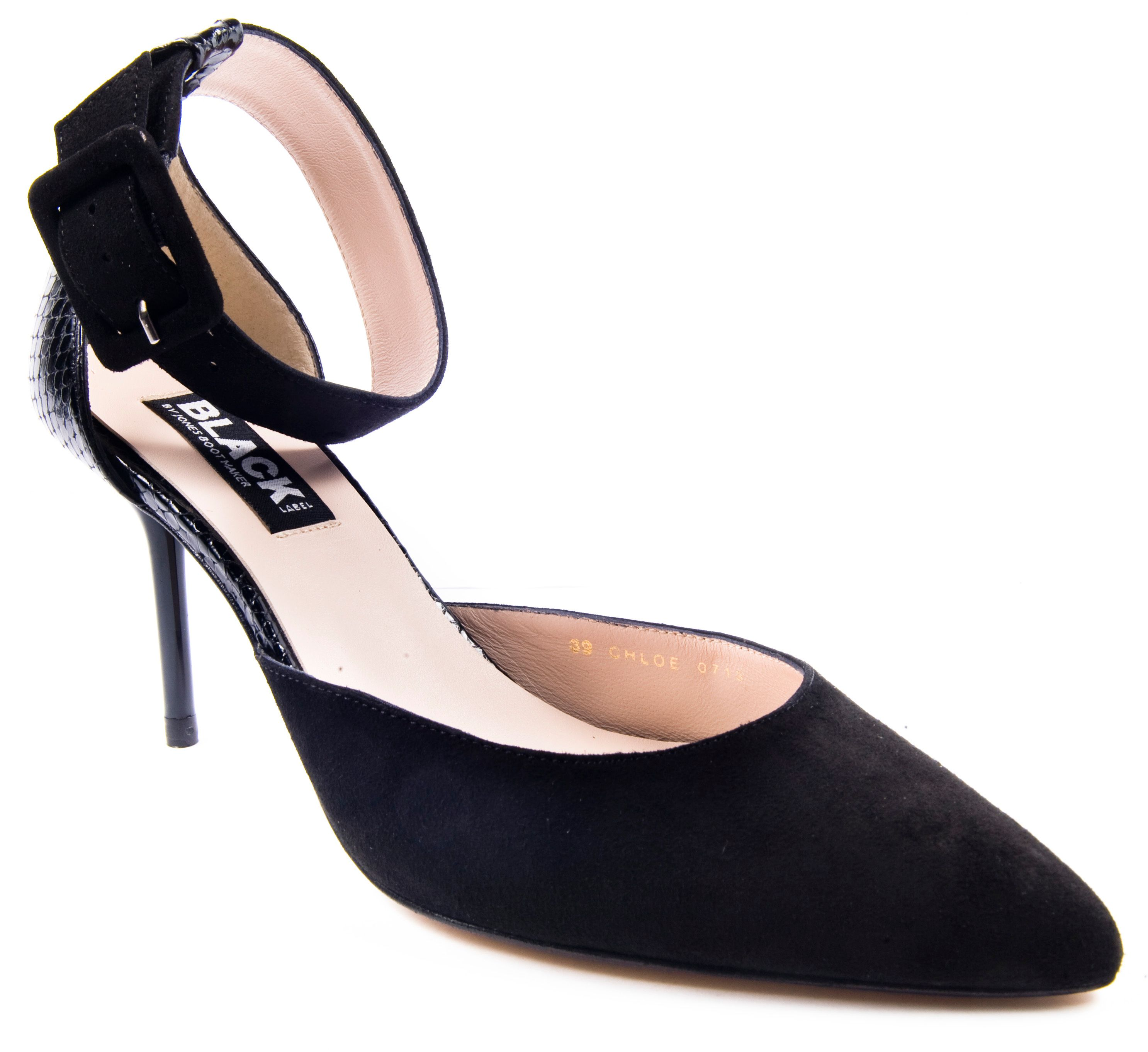 Chloe heeled court shoes