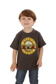 Amplified Kids Kid`s Guns `N` Roses Drum vintage wash T-Shirt