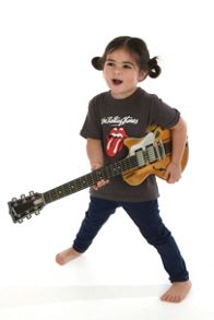 Amplified Kids Kids Rolling Stones Licks Vintage Wash T-Shirt