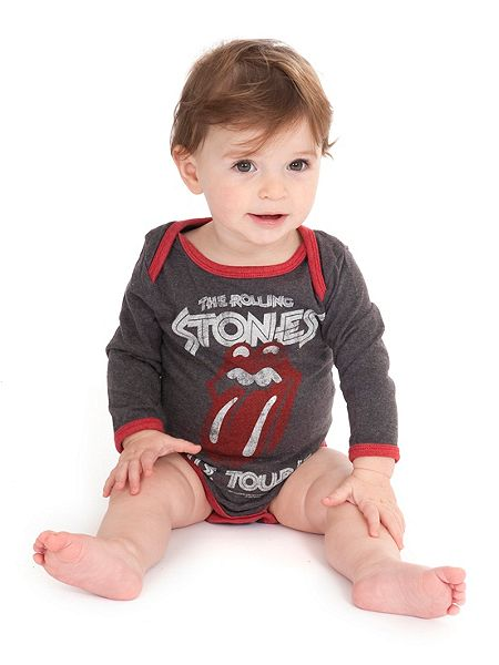 Rolling Stones Clothing For Babies