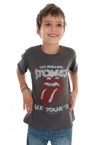 Amplified Kids Kids Rolling Stones Tour Marl T-Shirt