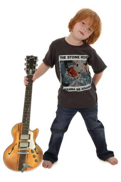 Amplified Kids Kids Stone Roses Adored Vintage Wash T-Shirt
