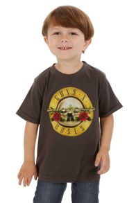 Amplified Kids Kids Guns `N` Roses Drum Vintage Wash T-Shirt